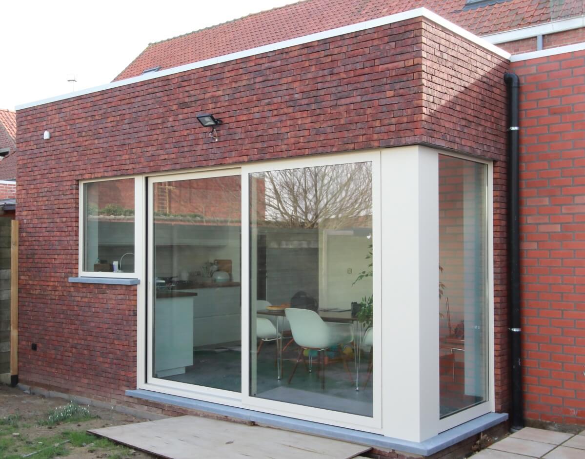 Aanbouwen aan bestaande woning